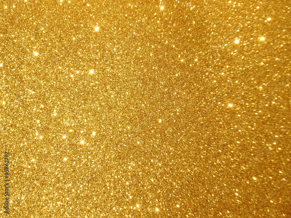 Fototapety, obrazy: abstract golden twinkle background