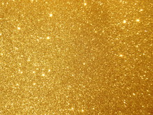 Abstract Golden Twinkle Backgr...