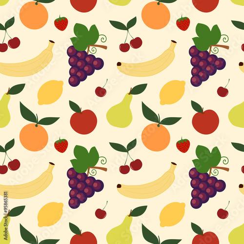 mieszanka-owocowa-wzor-w-slodkie-owoce-na-jasnym-tle-wektor