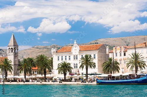 Fototapeta The historic town of Trogir obraz