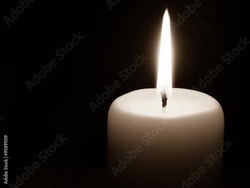 Fotomural Kerzen