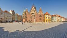 Market Square, Wroclaw, Poland...