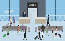 Airport Passenger Terminal Ill...