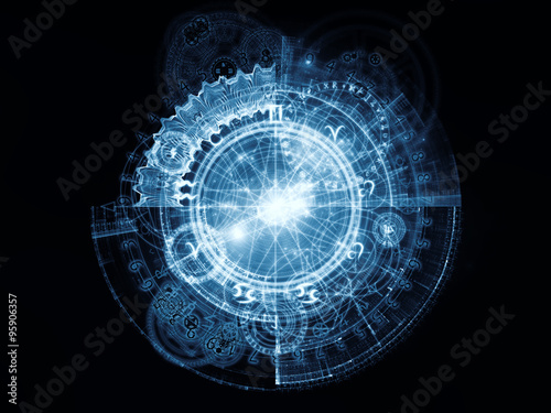 Fotografie, Obraz  Elements of Sacred Geometry