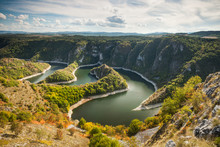 Canyon Of Uvac River, Serbia, ...