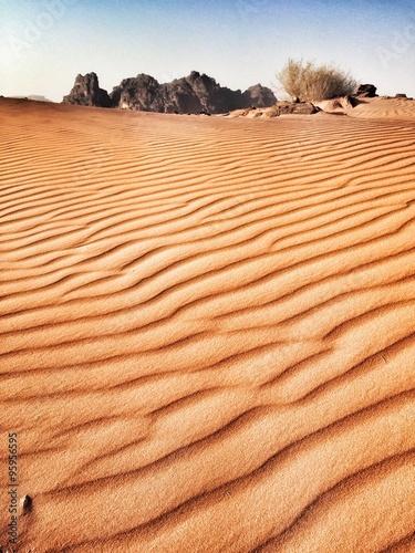 Photo  Deserto Wadi Rum in Giordania