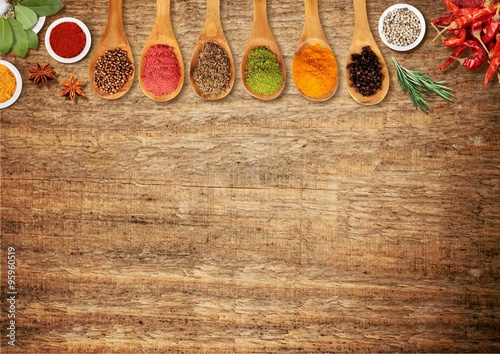 Canvas Prints Spices Spices.