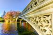 Bow Bridge, Central Park in Autumn