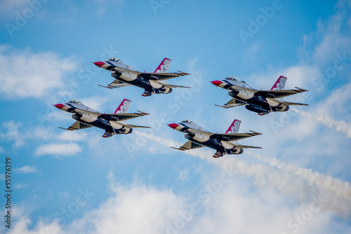 USMC F-16 Thunderbirds Wallpaper Mural