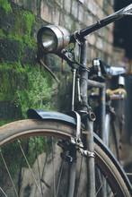 Old Bike In Kerala, India