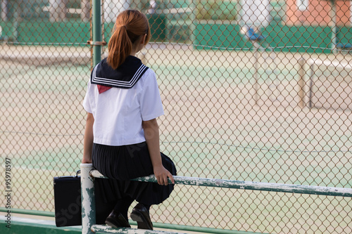 Fotografie, Obraz  Japanese girl