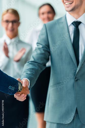 Fotografía  Business people in office