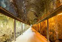Ancient Tunnel Of Megiddo, Isr...