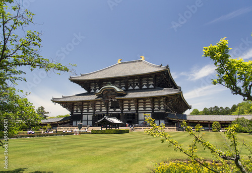 Todai-ji Temple in Nara, Japan #95984301