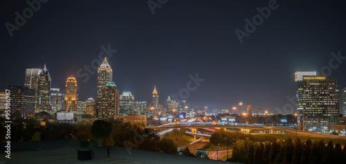 Obraz na dibondzie (fotoboard) Midtown Atlanta