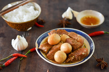 Vietnamese Braised Pork With H...