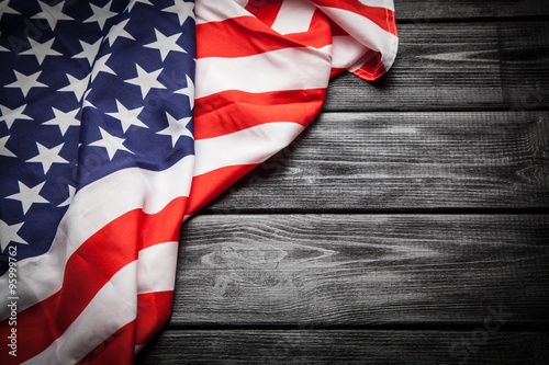 Photo  Flag of USA
