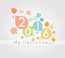 Carte Meilleurs Voeux 2016