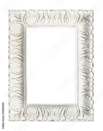 Shabby chic vintage picture frame, isolated. - Buy this stock photo ...