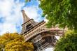 Tour Eiffel in Paris, low angle view
