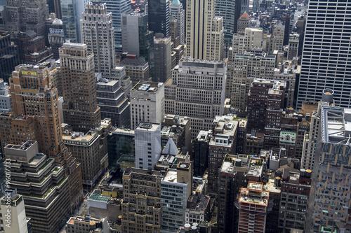 Fotografie, Obraz  New York City view from Rockefeller