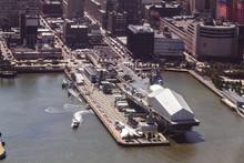 Aircraft Carrier In Manhattan