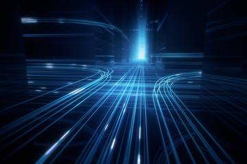Daten Kreuzung Infrastruktur