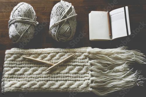 Fotografie, Obraz  Knitting Arrangment