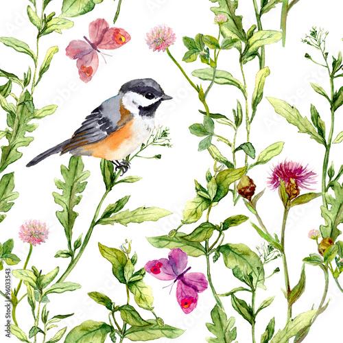 laka-z-motylami-ptakami-i-ziolami-akwarela-kwiatowy-wzor