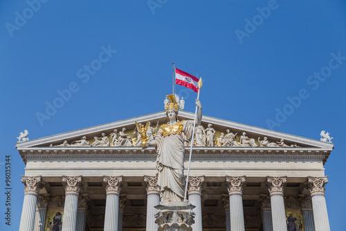 Fotografija  Part of the Austrian Parliament