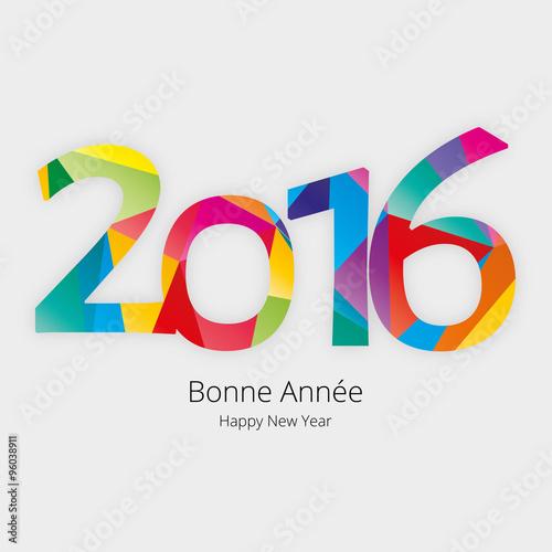Poster  Carte de vœux 2016