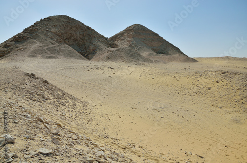 Remains of the Memphis necropolis in Saqqara #96049781