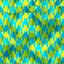 Hounds-tooth Patterns In Gree...