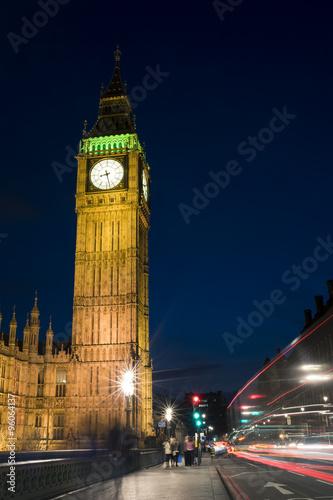 London skyline at twilight Wallpaper Mural