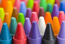Crayons Close Up