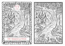 The Tarot Card. The Hanged Man