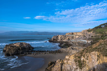 The Coast Along Sutro Baths, S...