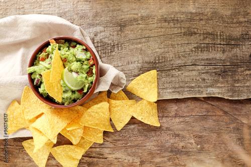Fotografía  Salsa de guacamole