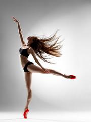 Naklejka balerina
