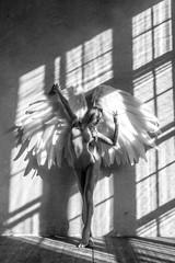 Panel Szklany Erotyka angel woman