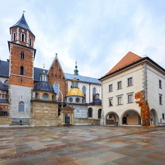 Obraz na Szkle Krakow Wawel Royal Castle
