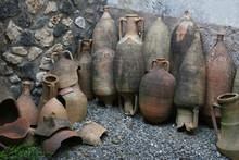 Pompeian Amphorae. Pompeii (Na...