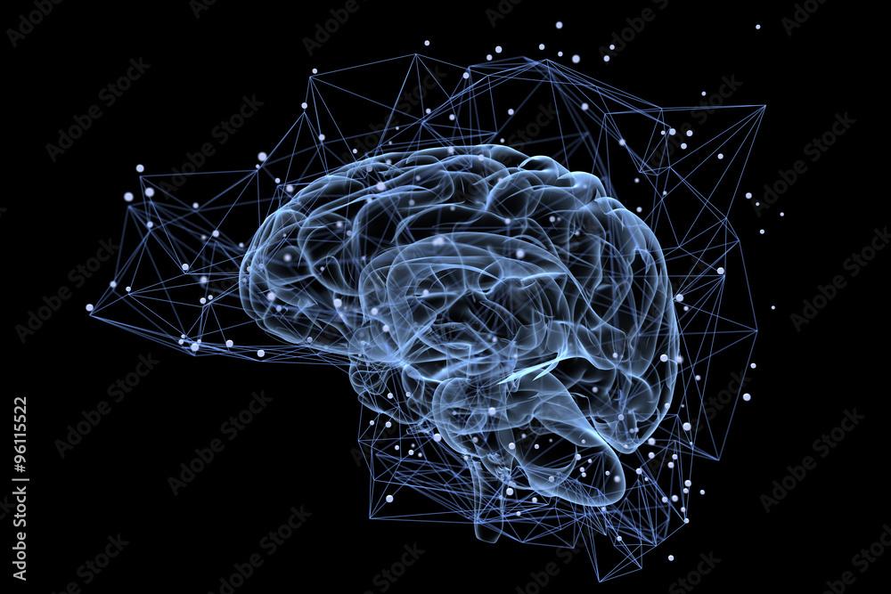 Fototapety, obrazy: Brain activity