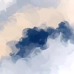 Fototapeta Optyczne powiększenie Clouds abstract background