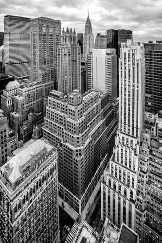 Foto op Aluminium New York New York City Manhattan aerial view