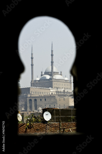 Photo  Moschea di Mohamed Alì al Cairo in Egitto