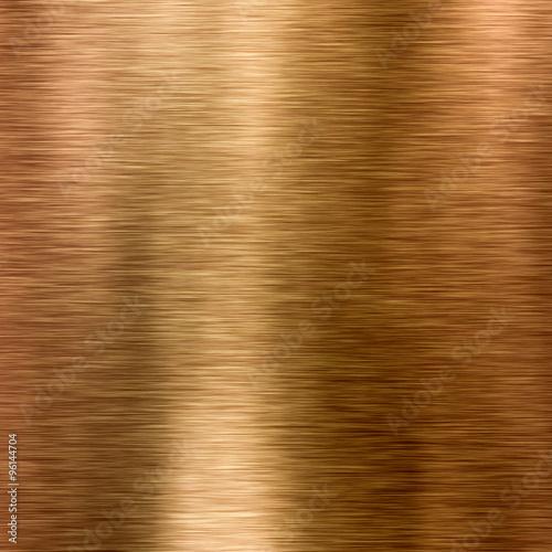Photo sur Toile Les Textures Bronze or copper metal texture background