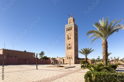 Recess Fitting Morocco Koutoubia mosque at Marrakesh