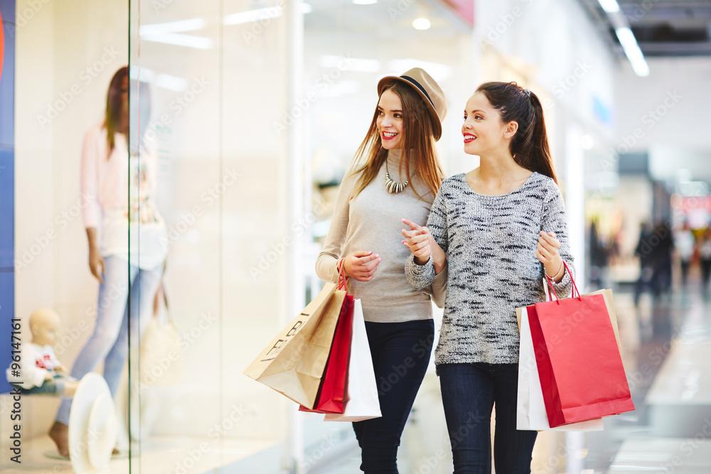 Fototapeta In shopping centre