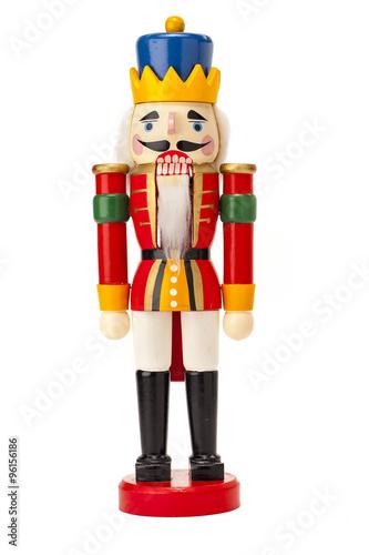 Fotografía  traditional figurine christmas nutcracker